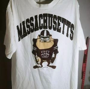 Taz Umass University of Mass Single stitch T-shirt
